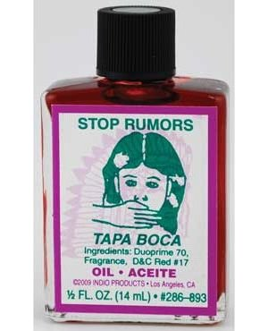 4dr Stop Rumors Oil
