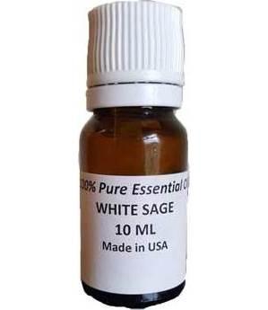 10 ml White Sage (100% pure essential) oil