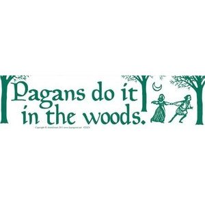 Pagans Do It In The Woods
