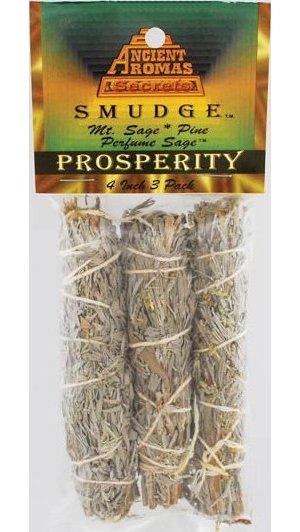"""Prosperity Smudge Stick 3pk 4"""""""