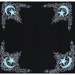 Celtic Moon Altar Cloth 3' x 3'