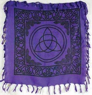 """Triquetra Altar Cloth 18""""x18"""""""