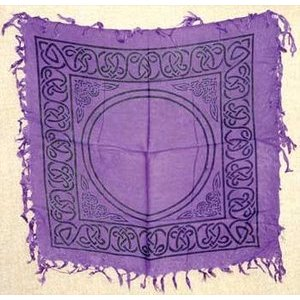 "Celtic Altar Or Tarot Cloth 18"" x 18"""