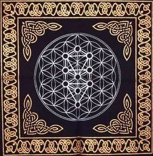 "18""x18"" Geometric Design altar cloth"