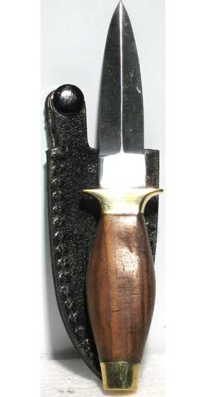 "6"" Wood Handle Athame"