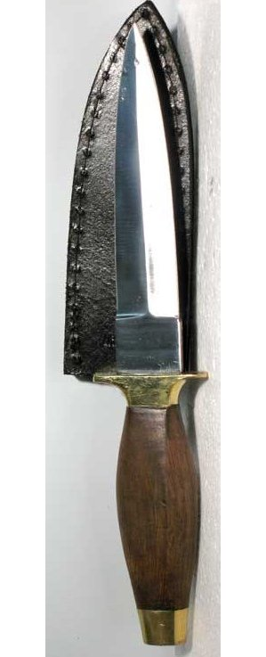 "9"" Wood Handle Athame"