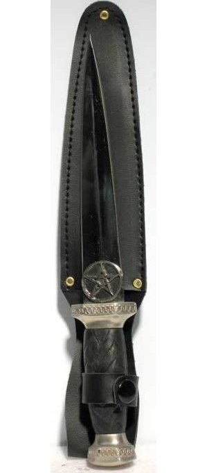 Scottish Pentagram Athame 9 1/2""
