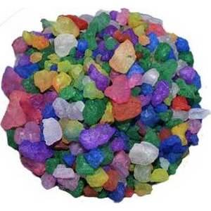 1 lb All Purpose bath crystals 7 colors
