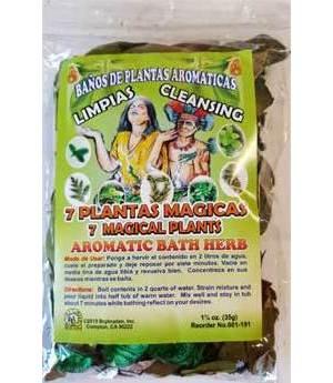 7 Magical Plants Bath Herb