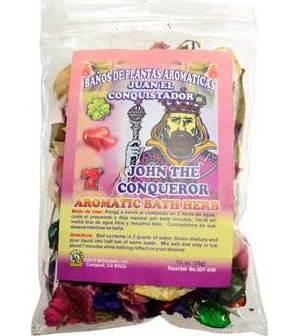 John The Conqueror Bath Herb