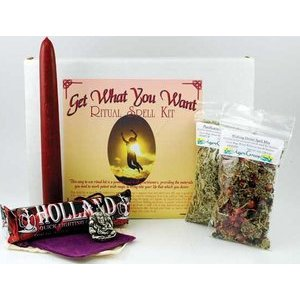Magic Spell Kit - Get What You Want Spell