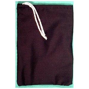 "Black Cotton Bag 3""X4"""