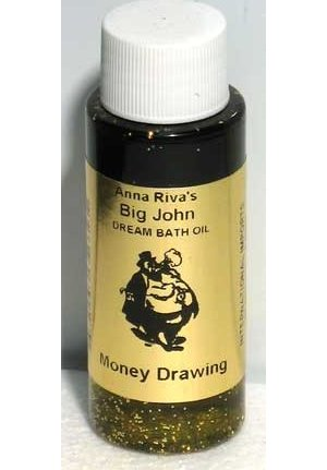2oz Money Drawing Bath Oil with Gold