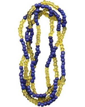 Ochosi Beads Blue & Amber
