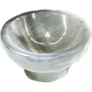 "4"" Selenite Stand bowl"