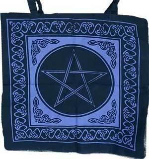"""18"""" x 18"""" Pentagram Tote Bag"""