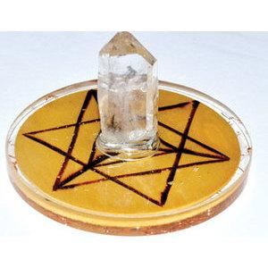 Merkaba Orgone crystal grid