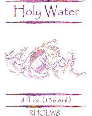 8 Oz Holy Water