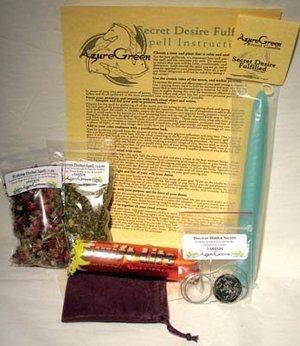 Secret Desire Fulfilled Ritual Kit
