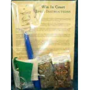 Win In Court Ritual Kit