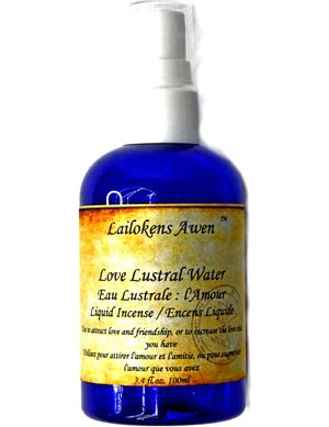 100ml Love Lustral Lailokens Awen water