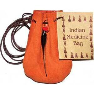 "3"" Medicine Dream bag Orange"