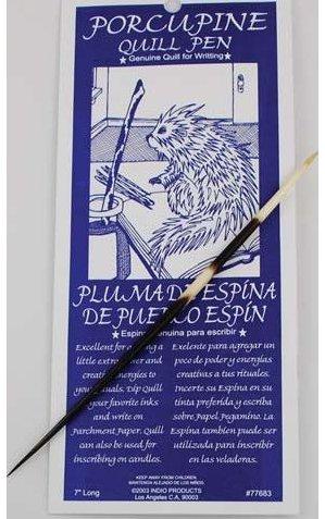 Porcupine Quill Pen