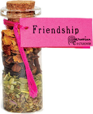 Friendship pocket spellbottle