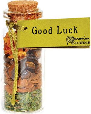 Good Luck pocket spellbottle