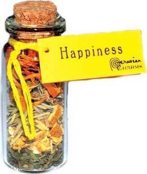Happiness pocket spellbottle