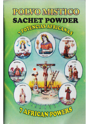 1/2oz Seven African Powers sachet powder