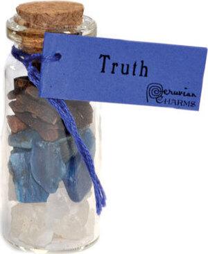 Truth pocket spellbottle