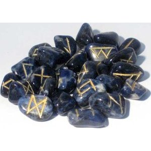 Sodalite Rune Set