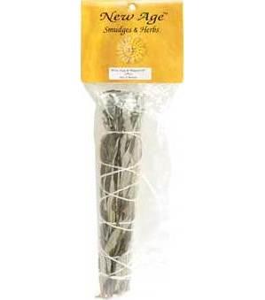 """8"""" White Sage & Mugwort Smudge Stick"""