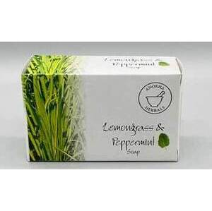 100g Lemongrass & Peppermint soap
