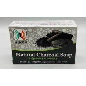 5oz Charcoal ninon soap