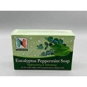 5oz Eucalyptus Peppermint ninon soap