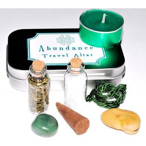 Abundance travel altar