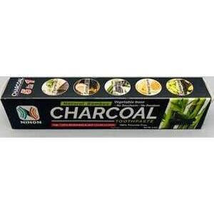 6.5oz Charcoal ninon toothpaste