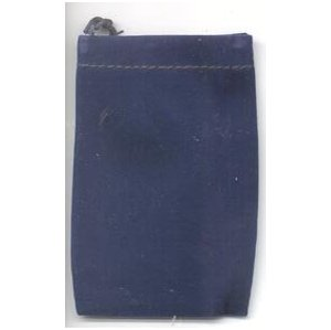 Bag Velveteen Pouch 3 X 4 Blue