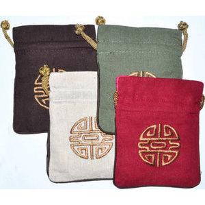 """4""""x5"""" Prosperity Linned pouch (set of 4)"""