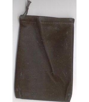 Bag Velveteen Pouch 4 X 5 1/2 Black
