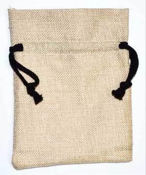 """5 1/2 """"x7 1/2"""" Linen bag (pk of 10)"""