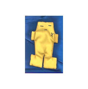 "Yellow Voodoo Doll (5\"")"