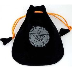 "Pentagram Black Bag 5"""