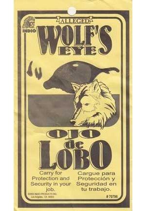 Wolf's Eye Charm