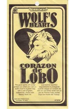 Wolf's Heart Charm
