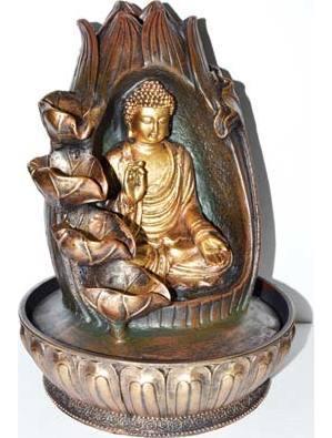Protection Buddha Fountain