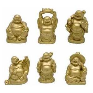 Gold Hotai Buddha Set