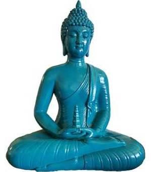"""12"""" Sitting Buddha Statue"""